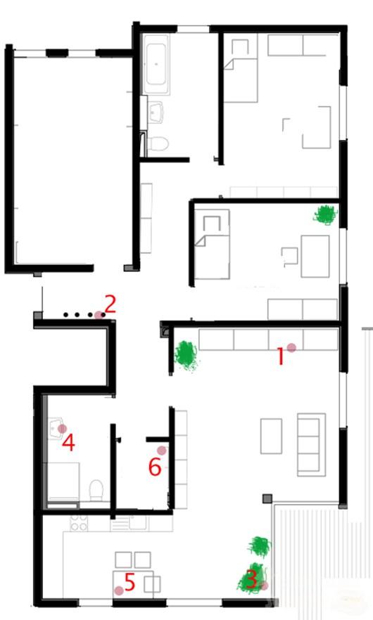 Schatzkarte Wohnung