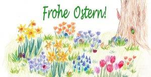 Zeichnung Osterwiese